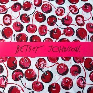 Betsey Johnson Pop Art Red Cherries FULL Sheets